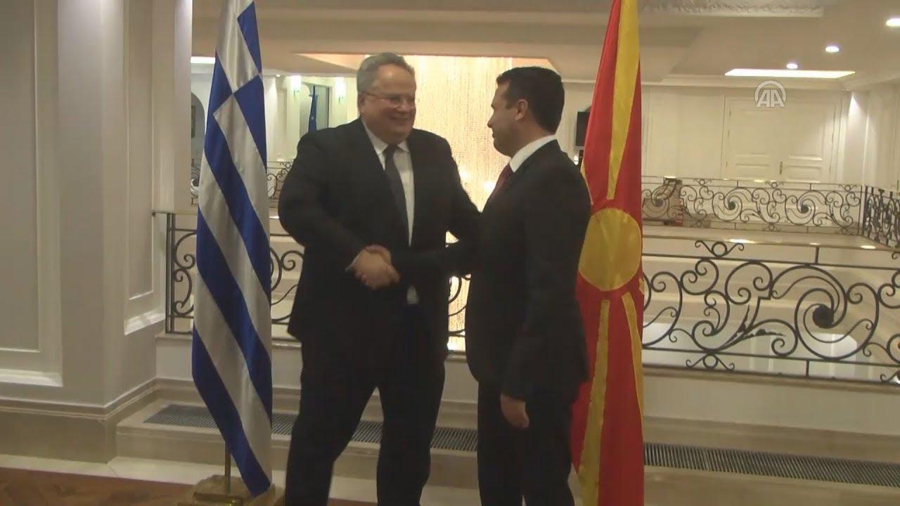 Συναντήσεις Ν.Κοτζιά με την πολιτική ηγεσία της πΓΔΜ