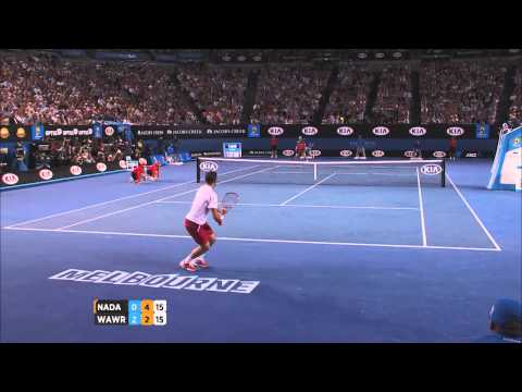 Wawrinka v Nadal highlights (men's final) – 2014 Australian Open