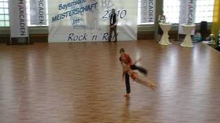 Susanne Misof & Christian Gartmeier - Landesmeisterschaft Bayern 2010