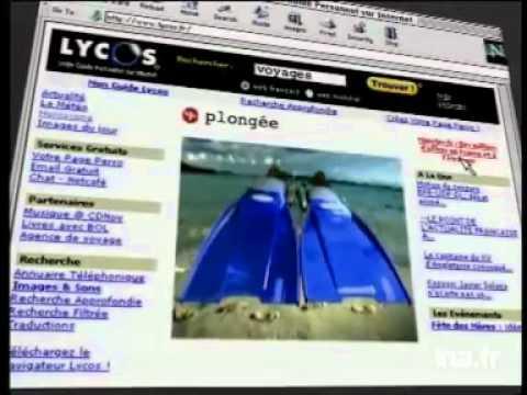 1ère publicité Lycos en France 1999