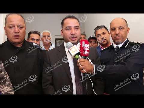 زيارة وكيل وزير الداخلية لشؤون الهجرة غير الشرعية إلى مدينة صبراتة