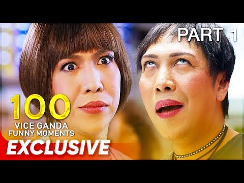 100 Vice Ganda Funny Moments | Part 1 | Stop, Look, and List It!