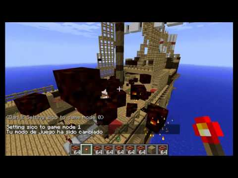 Minecraft - Piratas vs Corsarios