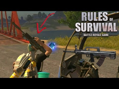 Download Noah Uses the *New* QBZ97 Assault Rifle! (Rules of Survival) HD Mp4 3GP Video and MP3