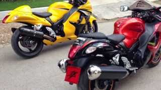 5. Suzuki Hayabusa 2013 limited edition and 2008 side by side