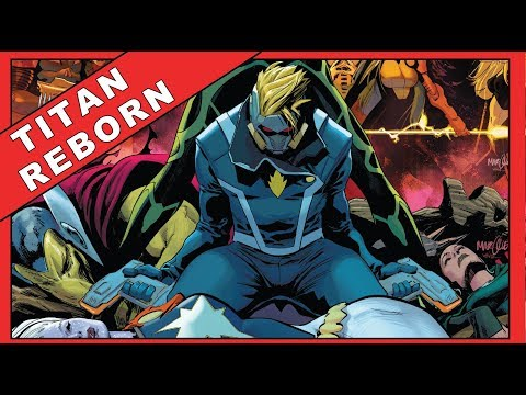 Titan Reborn | Guardians Of The Galaxy #5