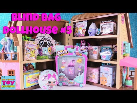 Blind Bag Dollhouse #5 Toy Review Pusheen Shopkins LOL Surprise Disney | PSToyReviews