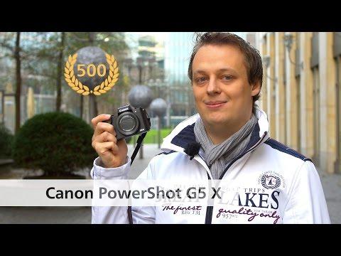 Canon PowerShot G5 X - Edel-Kompaktkamera im Test [Deutsch]