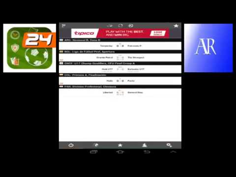 FUTBOL 24     NAJBRZA LIVE SCORE USLUGA   ANDROID APPLICATION 1