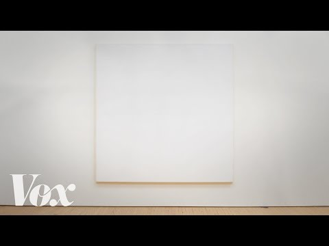 Would You Pay Millions for an All White Painting?