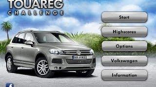 Volkswagen Touareg Challenge videosu