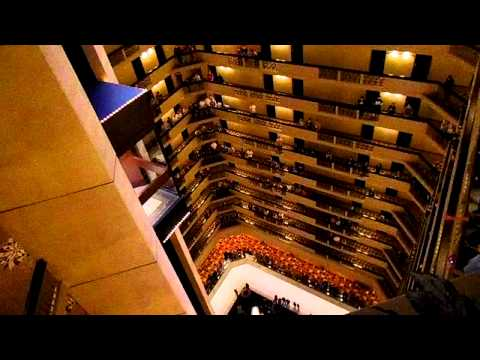 [Video] Kentucky All State Choir Sings National Anthem In Hotel