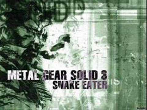 Eater - The soundtrack to Metal Gear Solid 3: Snake Eater.