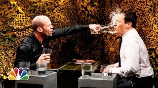 Video Water War with Jason Statham (Late Night with Jimmy Fallon) MP3, 3GP, MP4, WEBM, AVI, FLV April 2018