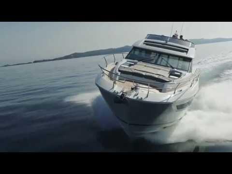 Prestige 630S Coupé Motor Yachtvideo
