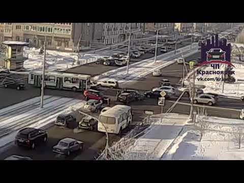 Красноярский рабочий - Сибирский переулок 14.02.2018
