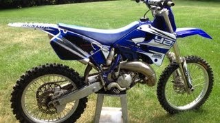 7. Yamaha YZ125 Walkaround and Start up