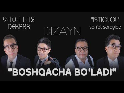 Video Dizayn jamoasi - Boshqacha bo'ladi konsert dasturi 2014 download in MP3, 3GP, MP4, WEBM, AVI, FLV January 2017