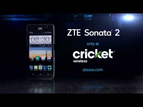The ZTE Sonata™ 2  Connect, share, shoot, and more!