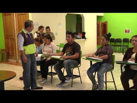 Jóvenes en formación ambiental