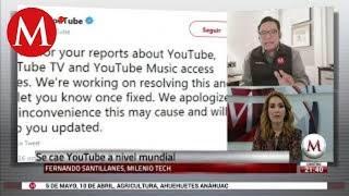 YouTube 'se cae' a nivel mundial #YouTubeDown