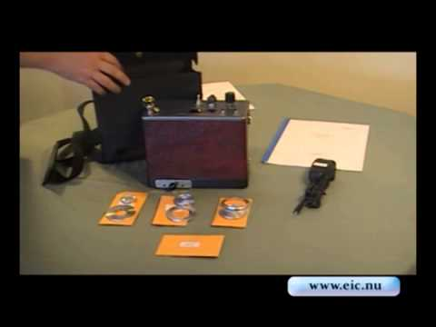 TM372 Portable Counter - Setup and Accessories - O