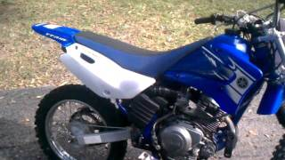 9. 2006 Yamaha TTR 125L with electric start