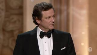 Video Colin Firth winning Best Actor MP3, 3GP, MP4, WEBM, AVI, FLV Januari 2018