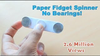 Video How To Make Fidget Spinner at Home Without Bearings MP3, 3GP, MP4, WEBM, AVI, FLV Juli 2017
