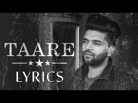 Guru Randhawa TAARE Lyrics | Full Song | 2017