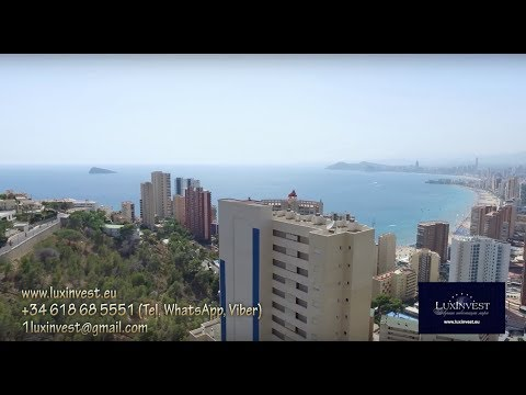 Buy an apartment in Benidorm with a sea view, 250m to the sea