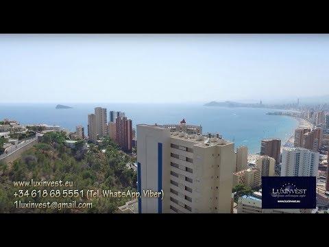 Купить квартиру в Бенидорме с видом на море, 250м до моря