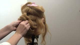 свадебные прически на средние волосы фото уроки
