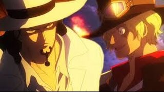 One Piece Film Gold  Rob Lucci VS Sabo FULL FIGHT ENG SUB   Epic Scene + Epic OST