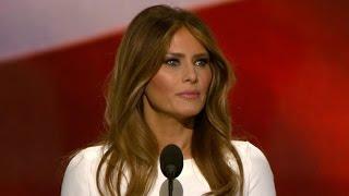 Melania Trump ignites GOP convention after gloom, turmoil