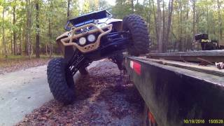 4. Lifted Arctic Cat Wildcat X Limited SE 6 Inch Lift on 32's Flexing