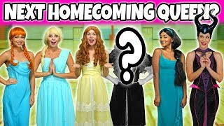WHO WILL BE HOMECOMING QUEEN? (Anna or Elsa, Belle or Jasmine, Merida or Maleficent?) Totally TV