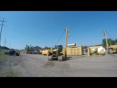 CATERPILLAR TRACTEURS POSE-CANALISATIONS PL61 equipment video 9aYvVCKrKyM