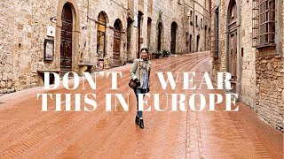 Video How To NOT Look Like A Tourist | What To Wear In Europe MP3, 3GP, MP4, WEBM, AVI, FLV Agustus 2018