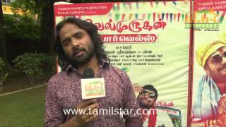Snehan at Velmurugan Borewells Movie Team Interview