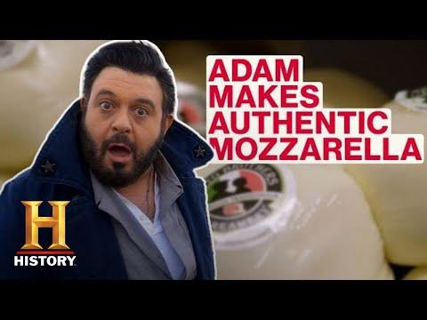 Modern Marvels: Adam Richman Makes Authentic Mozzarella (Season 18) | History