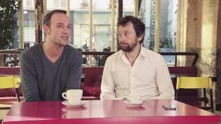 Mâle occidental contemporain - Quelques minutes au café avec François Bégaudeau et Clément Oubrerie - Bande annonce