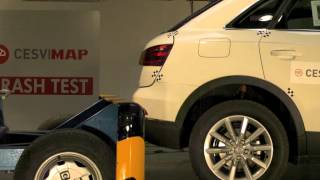 Crash Test trasero Audi Q3