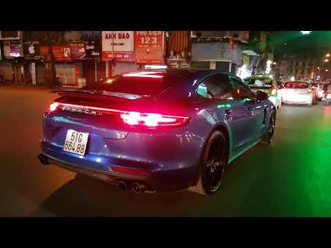 Porsche Panamera 4S độ pô, đèn LED siêu đẹp tại Hà Nội - Thời lượng: 3 phút, 54 giây.