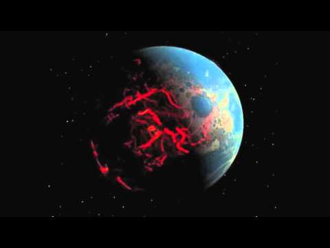 Video of Earth 4 billion years ago