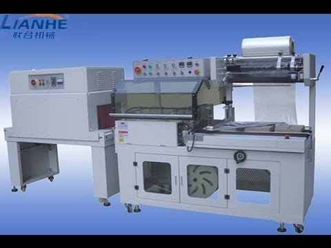packaging machinery - Fully automatic L type sealing and shrinkaging machinery&d'étanchéité et diminue la machine from Guangzhou Lianhe Cosmetic&food making and packaging machiner...