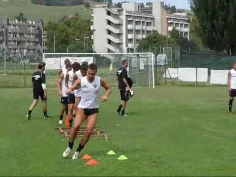 Entrenamiento del Cesena para la Temporada 2010 - 2011