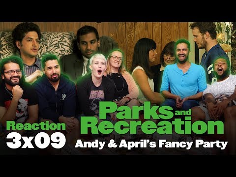 Parks and Recreation - 3x9 April and Andy's Fancy Party - Group Reaction