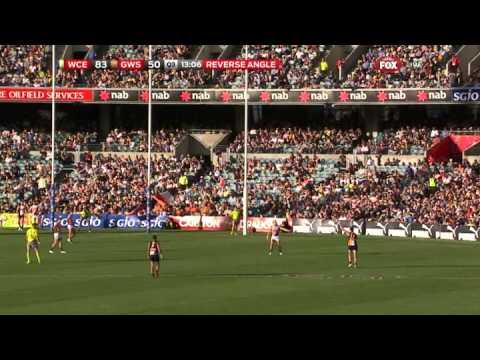 Josh Kennedy kicks 11 goals straight – AFL