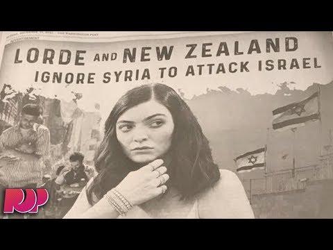 Washington Post Ad Calls Lorde A Bigot And Anti-Semitic